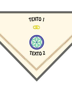 Pañuelo bordado estela II