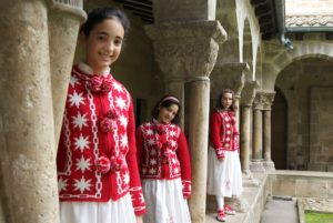 Estella traje tradicional