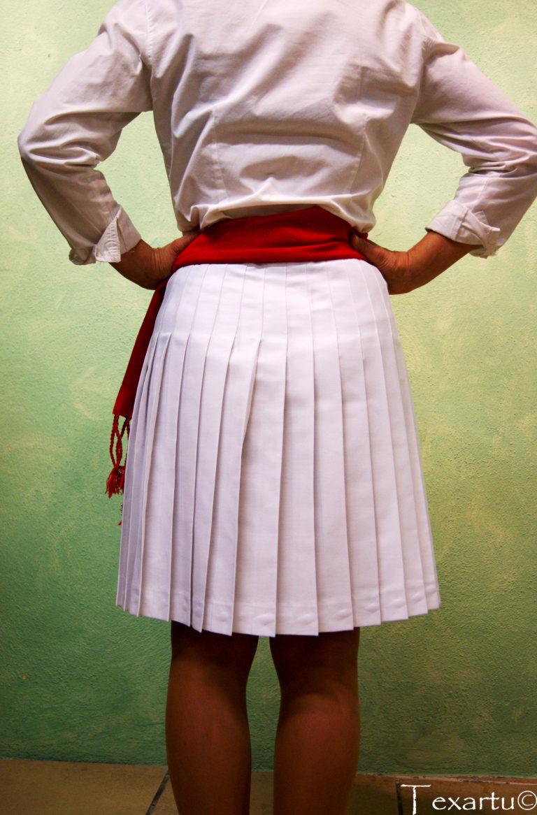 falda de jotera