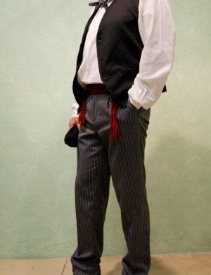 conjunto traje vasco casero milrayas