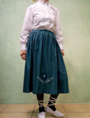 falda traje de casera euskal jantziak exclusiva