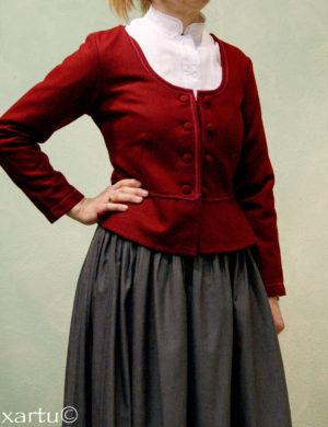 chaqueta de paño traje de casera euskal jantziak traje vasco