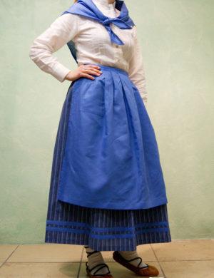 conjunto polka traje de casera euskal baserritar jantziak