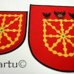 Escudo Navarra bordado
